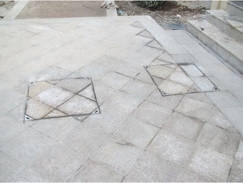 方形不锈钢装饰井盖